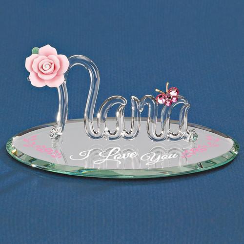 I Love You Nana Glass Figurine GP6041