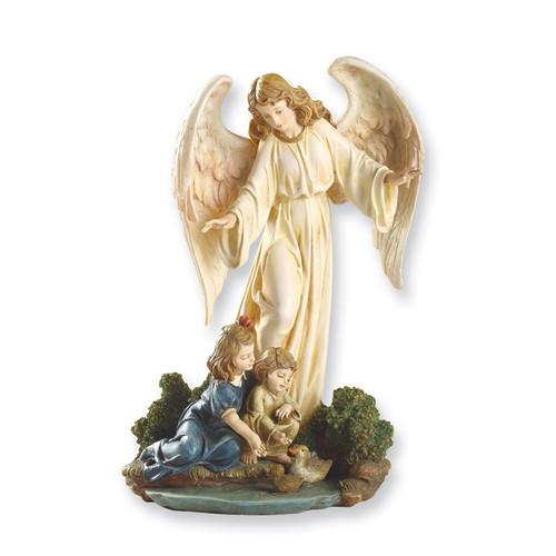 Josephs Studio Guardian Angel with Children Figurine GP7453