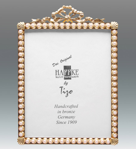 Haffke Bronze with Pearl Picture Frame 2.5 x 3.5 Inch