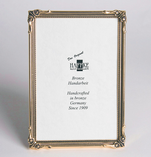 Haffke Nature Bronze Picture Frame 4 x 6 Inch