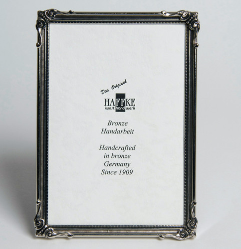 Haffke Nature Silver Picture Frame 2.5 x 3.5 Inch