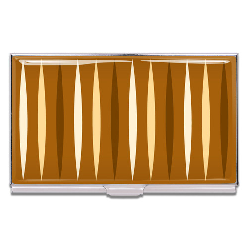 ACME Cafe Creme Business Card Case By Ali Hall