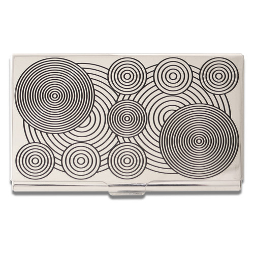 ACME Circles Etched Card Case By Verner Panton