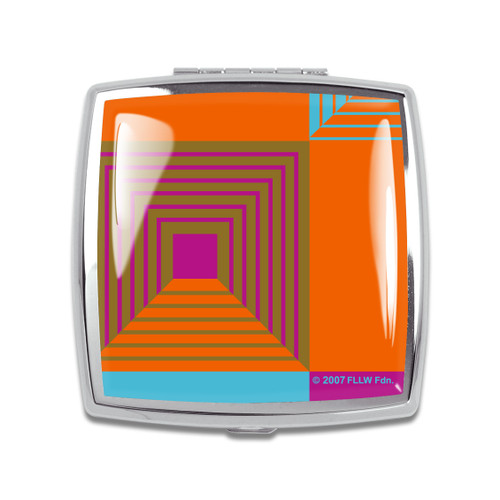 ACME Biltmore Compact Mirror By Frank Lloyd Wright