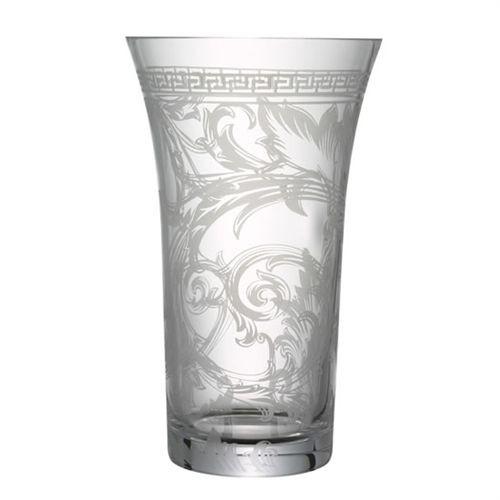 Versace Arabesque Vase Crystal 13 1/2 inch Clear