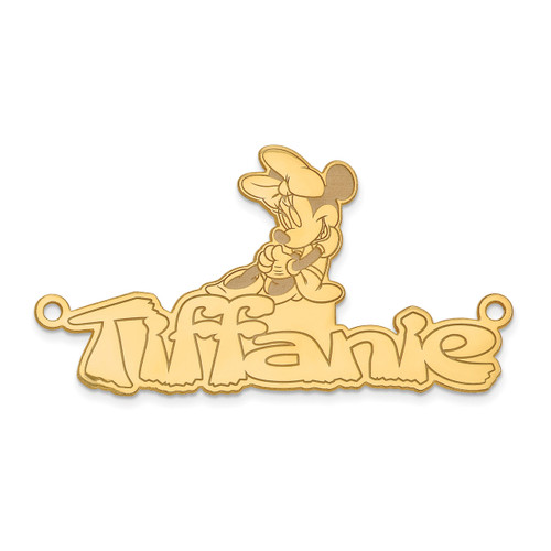 Disney Nameplate 14k Gold XNA462Y