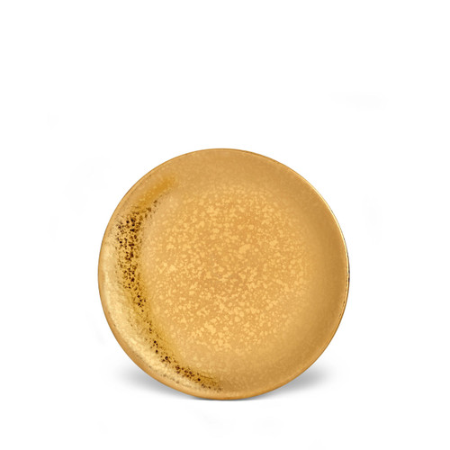 L'Objet Alchimie Bread and Butter Plate Gold