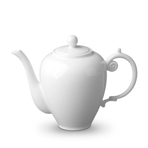 L'Objet Aegean Coffee Pot White