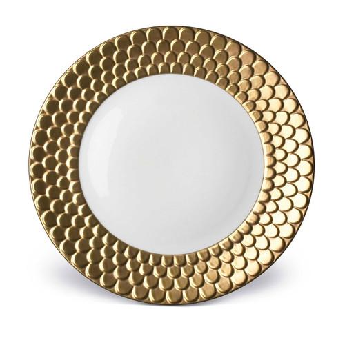 L'Objet Aegean Charger Gold