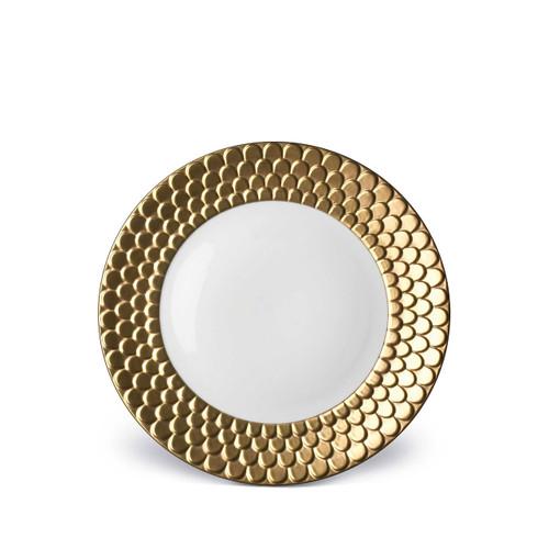L'Objet Aegean Dessert Plate Gold