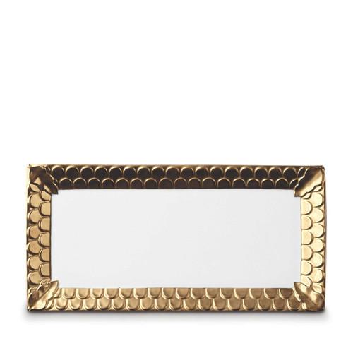 L'Objet Aegean Rectangular Platter Gold