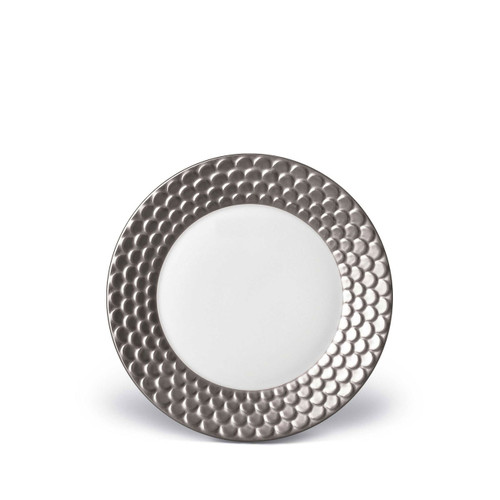 L'Objet Aegean Bread and Butter Plate Platinum