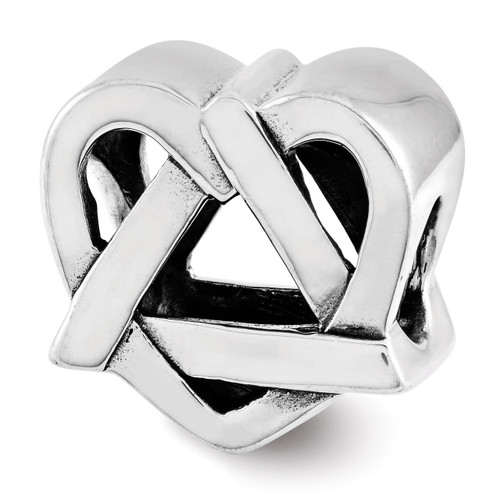 Adoption Symbol Bead Sterling Silver QRS3220