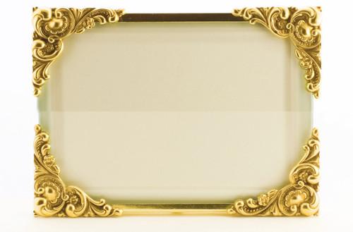La Paris Baroque 8 x 10 Inch Brass Picture Frame - Horizontal