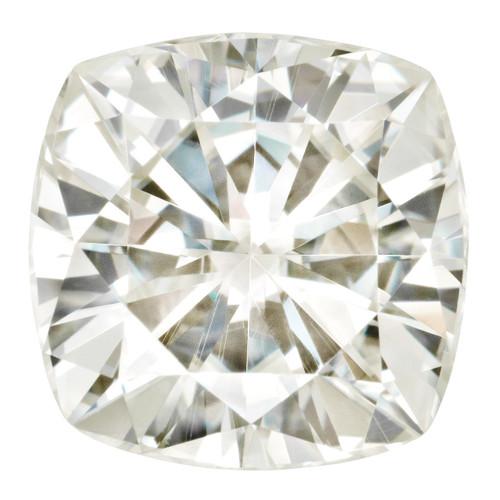 4.5 mm Sq Cush Moissanite Stone White MT-0450-CUF-WH