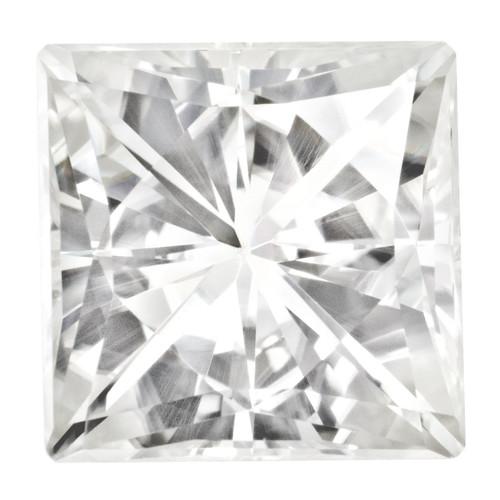 8.5 mm Square Brilliant Moissanite Stone Forever Brilliant MT-0850-SQB-FB