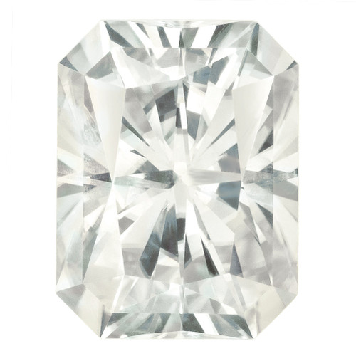 10X8 mm Oct Radiant Cut Moissanite Stone White MT-1008-OCR-WH