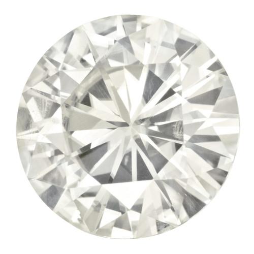 14 mm Round Moissanite Stone White MT-1400-RDF-WH