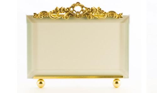 La Paris Country Garden 8 x 10 Inch Brass Picture Frame - Horizontal