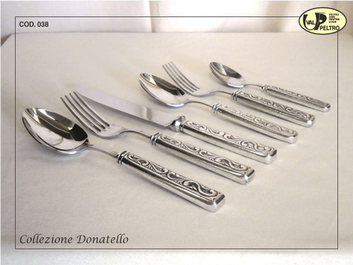 ValPeltro Donatello Carve Knife Pewter