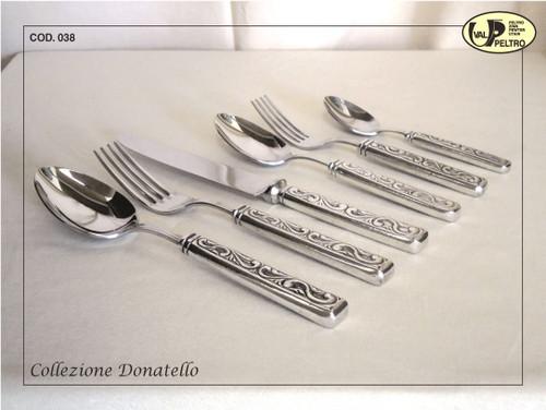 ValPeltro Donatello Cake Knife Pewter