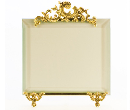 La Paris French Stand 10 x 10 Inch Brass Picture Frame