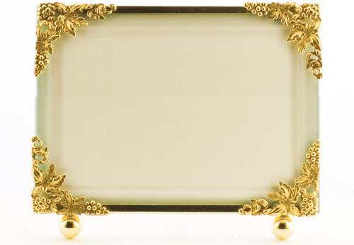 La Paris Grapevine 8 x 10 Inch Brass Picture Frame - Horizontal