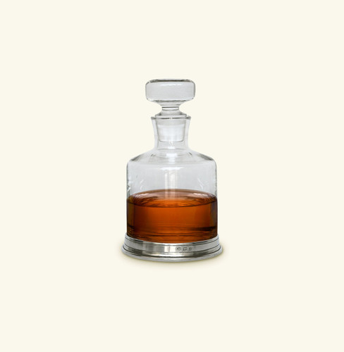 Match Pewter Spirits Decanter With Top