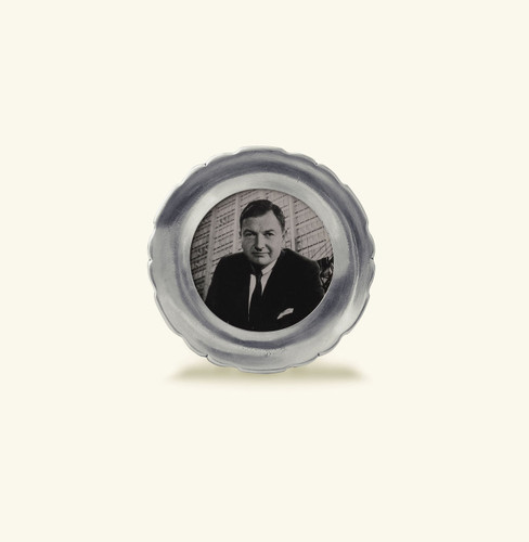 Match Pewter Carretti Round Picture Frame Small