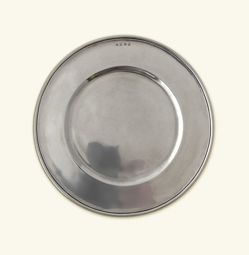 Match Pewter Convivio Charger All Pewter