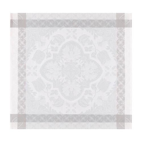 Le Jacquard Francais Azulejos Grey Napkin 22 x 22 Inch Set of 4