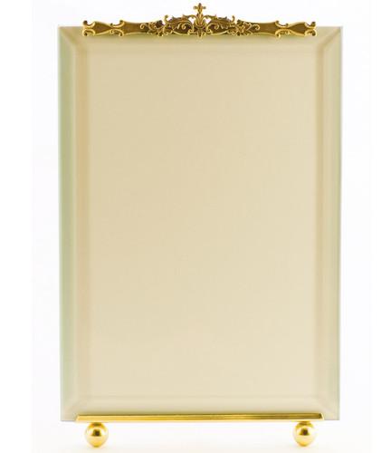 La Paris Monaco 8 x 10 Inch Brass Picture Frame - Vertical