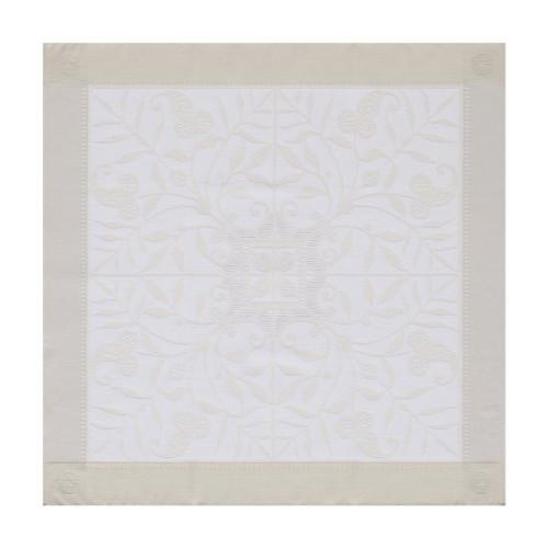 Le Jacquard Francais Venezia Ivory Napkin 22 x 22 Inch Set of 4
