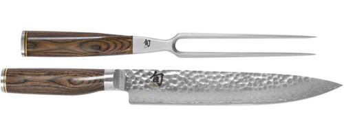 Shun Premier 2 Piece Carving Knives Cutlery Set