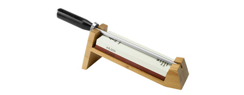 Shun 3 Piece Whetsone Sharpening System with Honing Steel