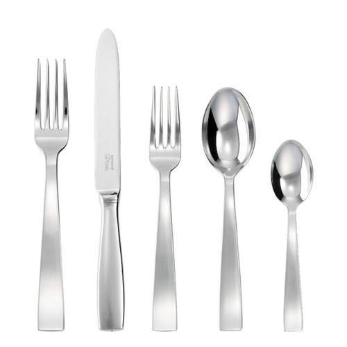 Sambonet gio ponti 5 piece place setting solid handle - 18/10 stainless steel