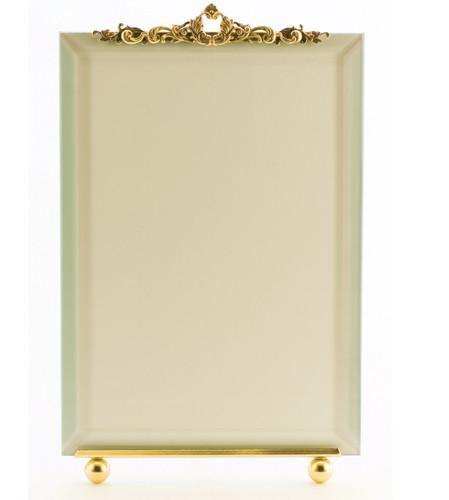 La Paris Tiara 5 x 7 Inch Brass Picture Frame - Vertical