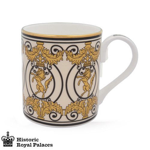 Halcyon Days Historic Royal Palaces Kensington Palace Gates Mug BCHKP05MGG