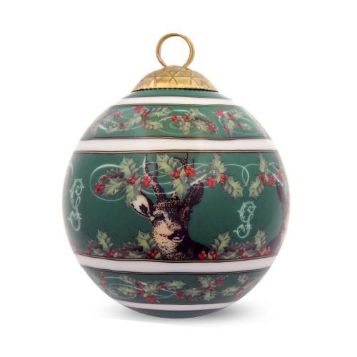 Halcyon Days Gordon Castle Christmas Bauble Ornament BCGSH09XBN