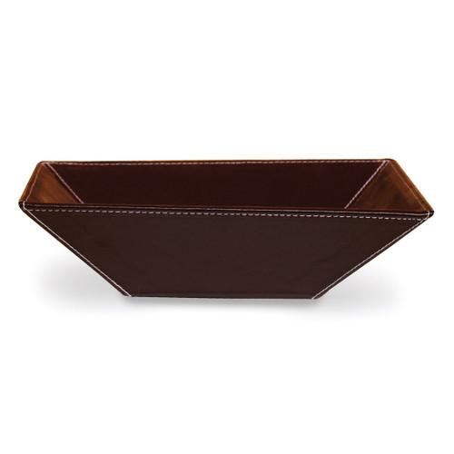Brown PU Large Tray GP9485