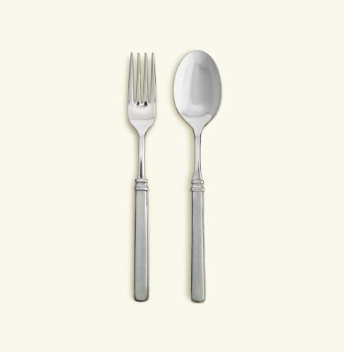Match Pewter Gabriella Serving Fork & Spoon