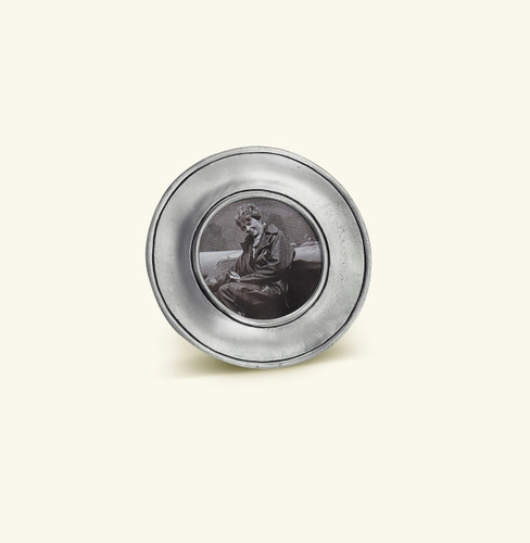 Match Pewter Lombardia Round Picture Frame Small