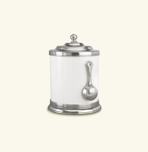 Match Pewter Convivio Caff Canister