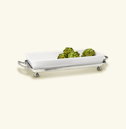 Match Pewter Convivio Baking Tray With Handles Ftd. Wht.
