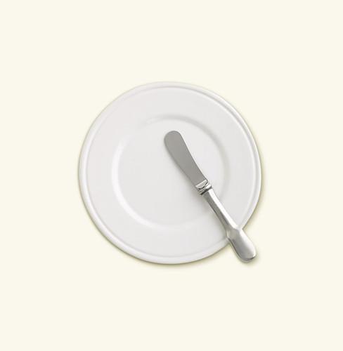 Match Pewter Convivio Bread Plate No Rim