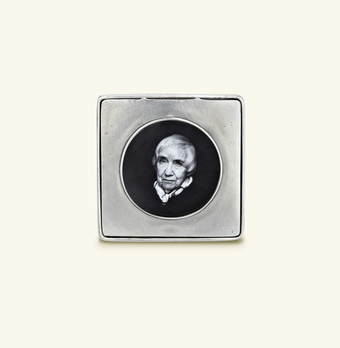 Match Pewter Piemonte Round Picture Frame Small