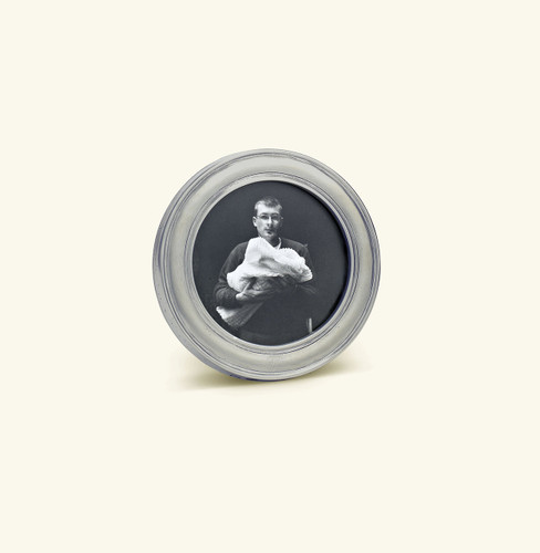 Match Pewter Lugano Round Picture Frame Small