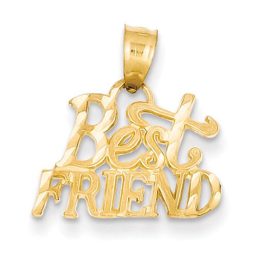 14k Gold Best Friend Pendant YC121