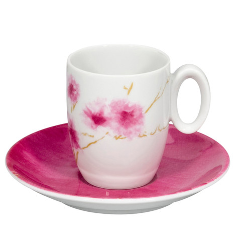 Vista Alegre Arigato Coffee Cup & Saucer