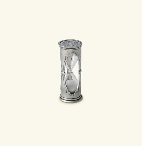 Match Pewter Round Hourglass X-Small 1006